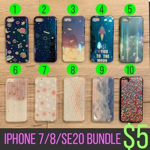 40 Styles [iPhone 7/8/SE2020] bundle case
